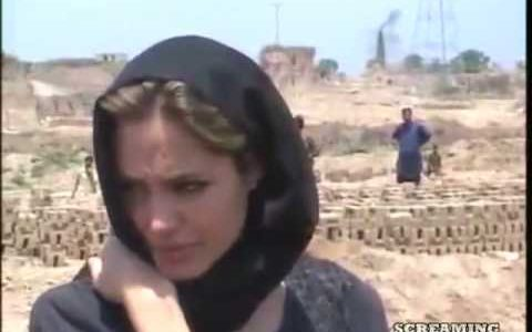 Angelina Jolie visit in Pakistan