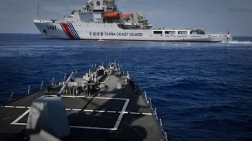 Breaking News – China Condemned U.S Warship Sailed Within 12nm Of Scarborough Shoal, South China Sea
