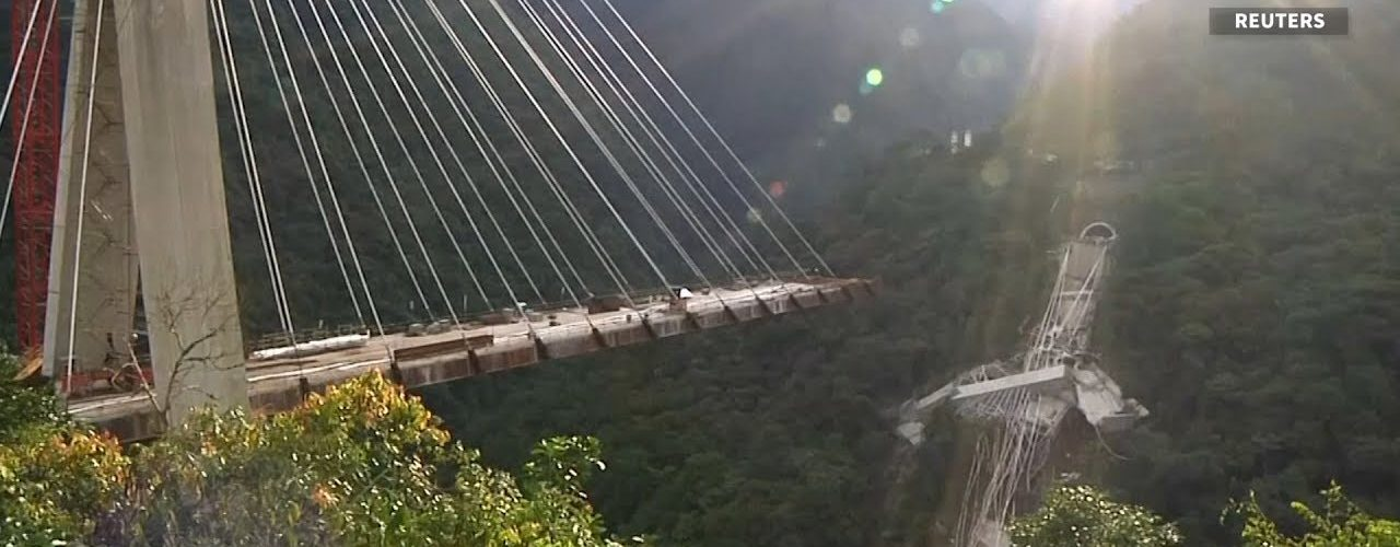 Bridge collapses in Colombia killing at least 10