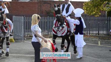 RANI TAJ DHOL & Punjabi Horse Dance, England