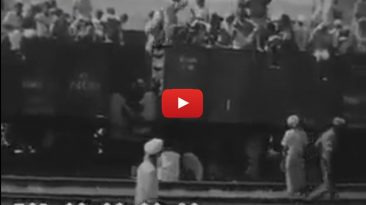 Rare Video: Refugees Reaching Wagha Lahore c. 1947 (Partition)