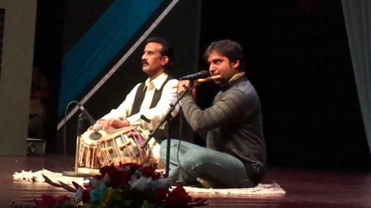 Sun wanjhli di mithri taan way on flute and tabla
