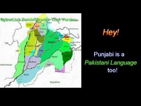 Hey! Punjabi is a Pakistani language, too!