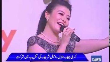 Music performance at Gwadar port inauguration