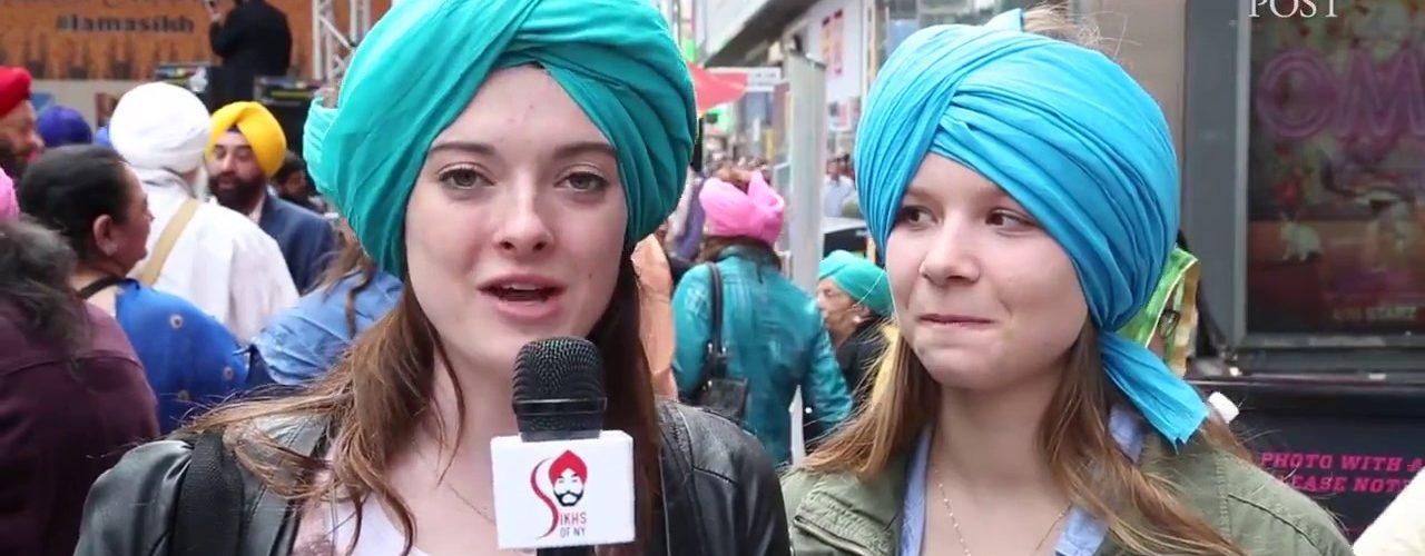 Turban Day Celebrations, Times Square, New York 2017