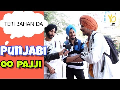 What Delhi Thinks About Punjabi | Delhi People on Punjab and Punjabi